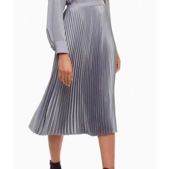 Aritzia Babaton Jude Pleated Skirt